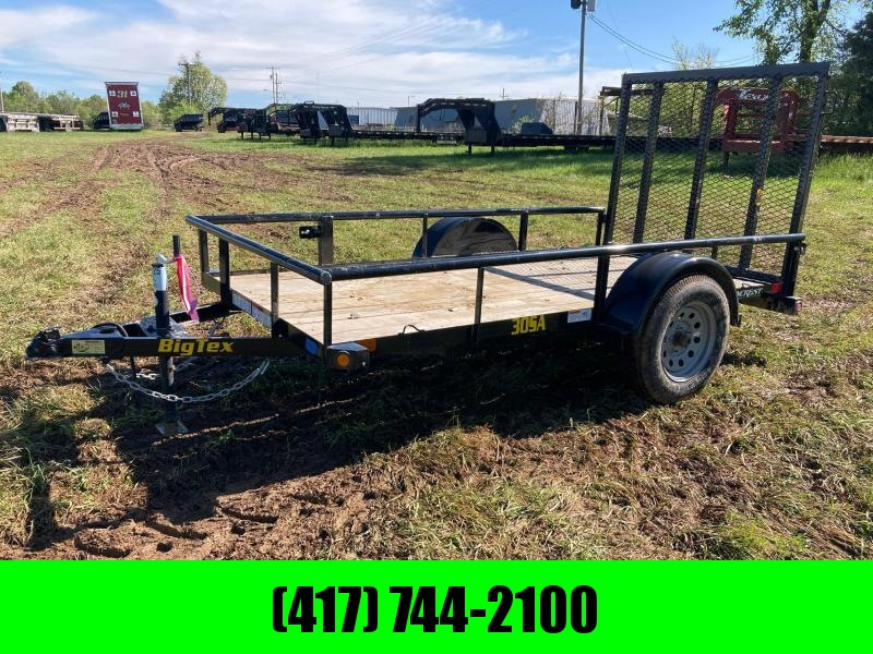 2021 Big Tex Trailers 60X10 SINGLE 3.5K AXLE UTILITY