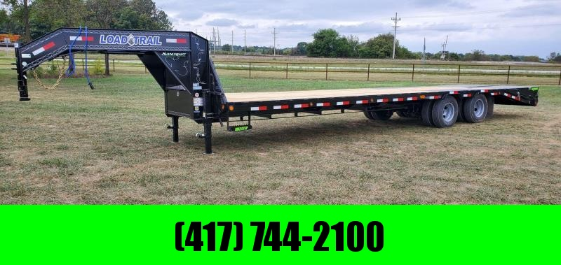 2021 Load Trail 102X32 TANDEM LO-PRO GOOSENECK W/10K AXLES MAX RAMPS & UNDER BRIDGE