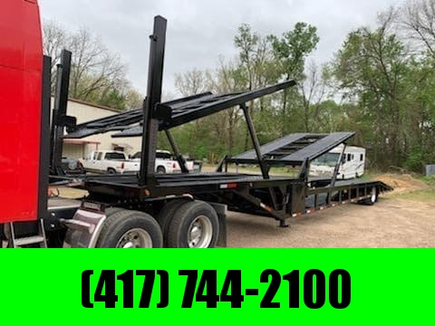 2014 SUN COUNTRY 102X53 AIR RIDE/AIR BRAKE SINGLE 5 CAR HAULER