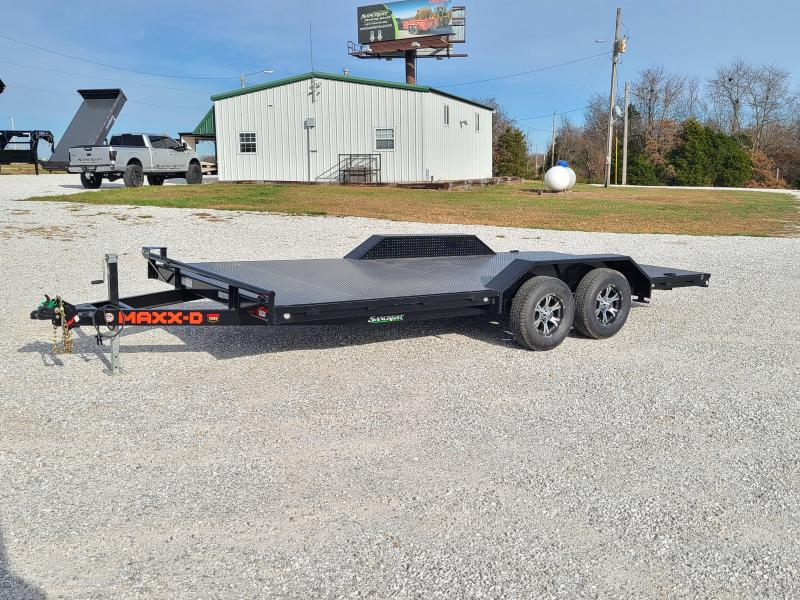 2021 MAXXD 102X18 TANDEM BUGGY HAULER  W / DRIVE OVER FENDERS