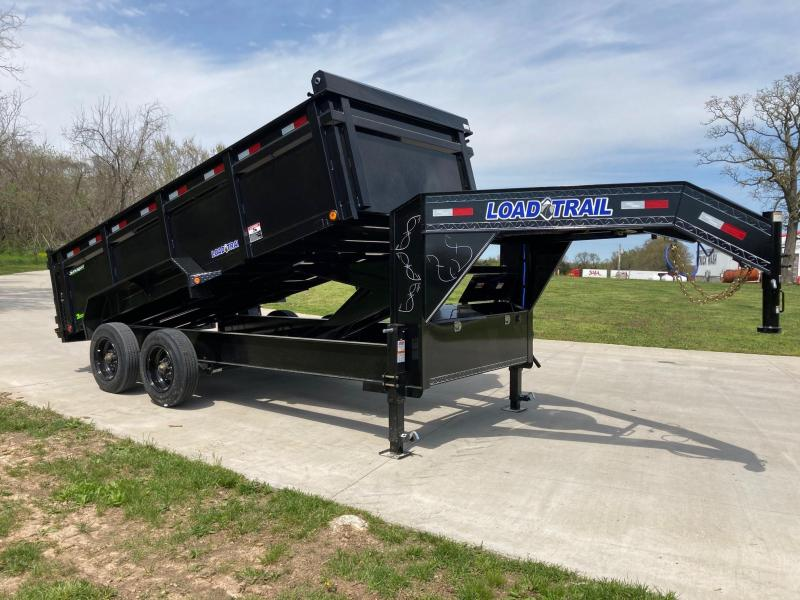 2021 Load Trail 83x16 Tandem 20K HD GN Dump Trailer W/ 3 FT Sides
