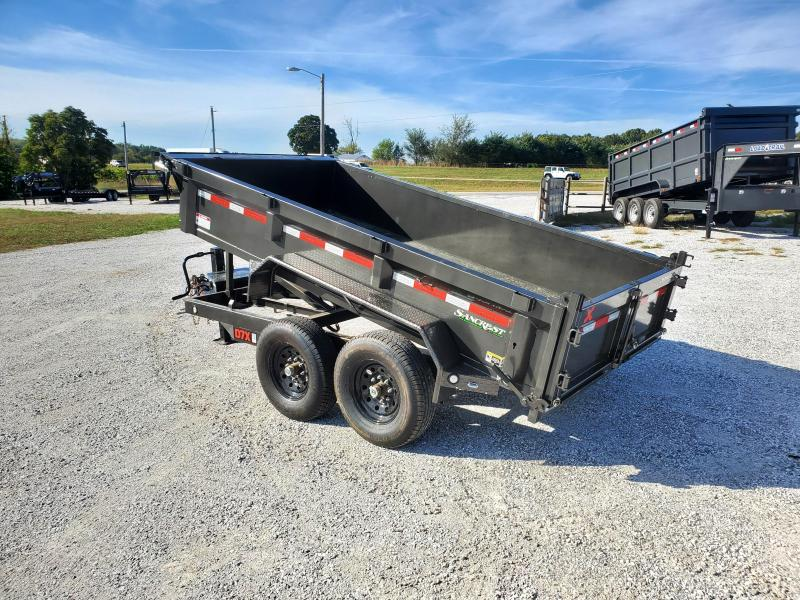 """2022 MAXXD 72X12 TANDEM 14K DUMP W/ 21"""" SIDES AND SLIDE IN RAMPS"""