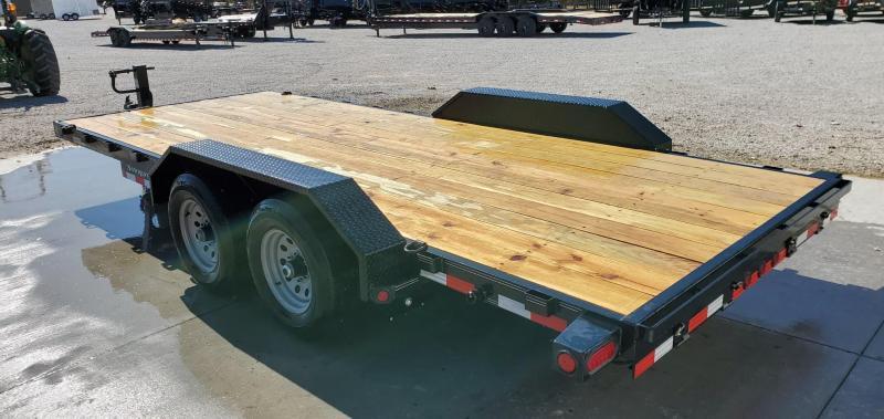 2020 Load Trail 83x18 TANDEM 10K CARHAULER W/STRAIGHT DECK DRIVEOVER FENDERS 10K JACK 8 EXTRA STAKE POCKETS