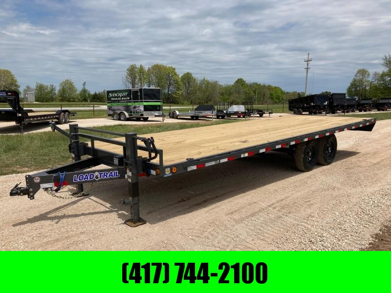 2021 Load Trail 102X24 TANDEM 14K W/ SLIDE IN RAMPS
