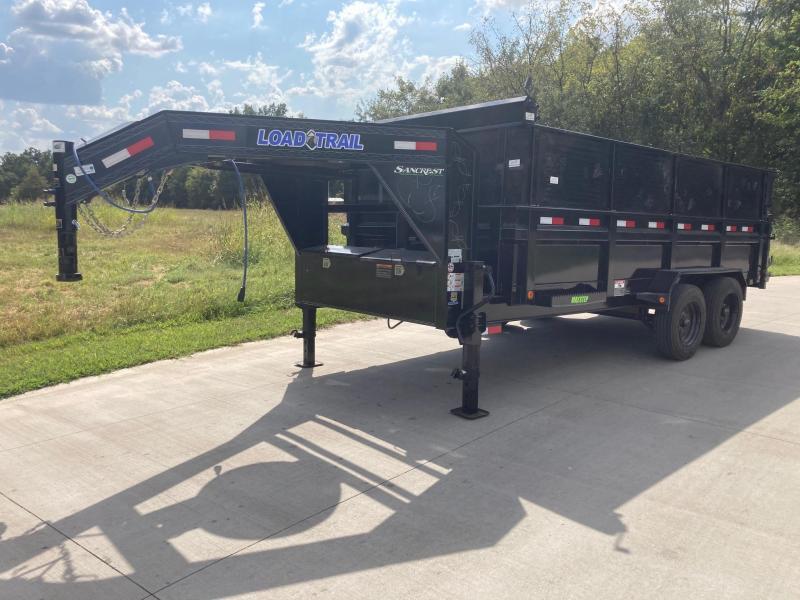 2022 Load Trail 83x16 Tandem Telescopic GN Dump Trailer