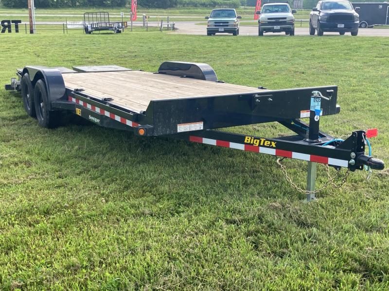 2021 Big Tex 83x20 Tandem Equipment Trailer