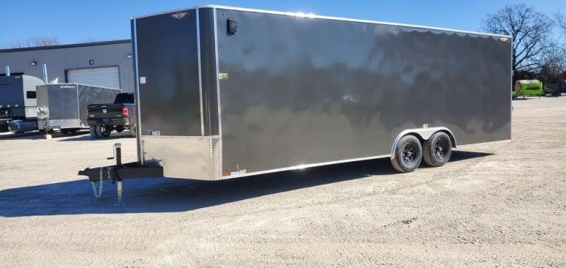 2021 H&H 8.5X24 TANDEM 10K CARGO W/7' HEIGHT