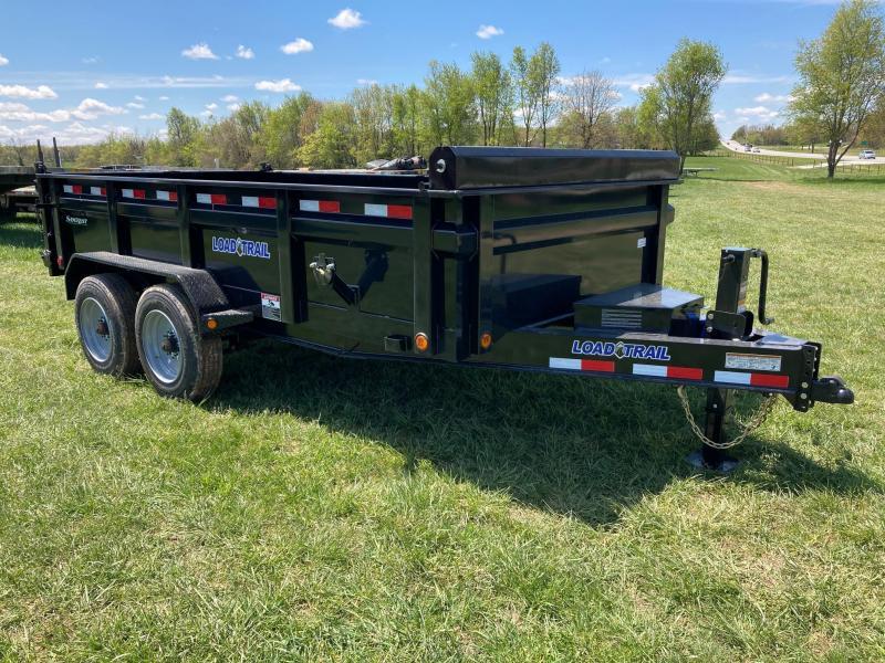 """2021 Load Trail 83""""x14' Tandem 16K Dump w/ 24"""" Sides"""