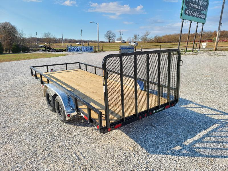 "2021 Load Trail 83"" x 18' Tandem Axle Utility (4"" Channel Frame)"