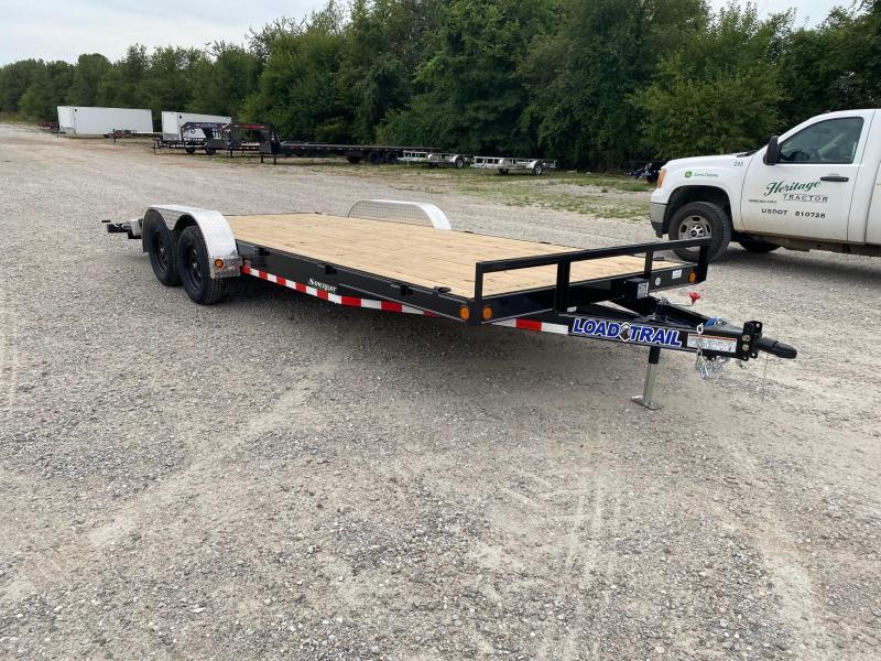 2021 Load Trail 83x20 Car Hauler w / Slide in Ramps