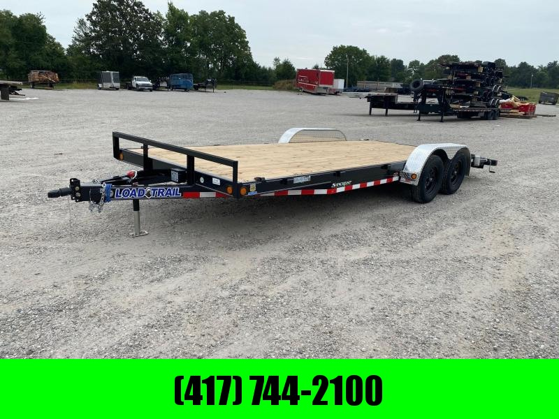 2021 Load Trail 83x20 Car Hauler w / Slide in Ramps