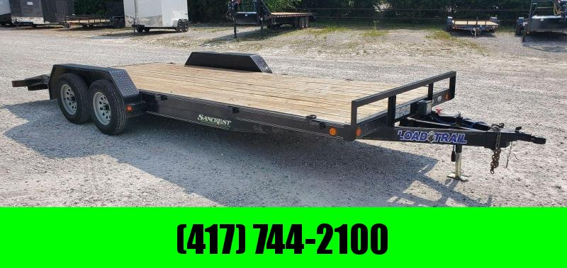 2018 Load Trail 83X20 TANDEM 7K CAR HAULER W/SLIDE OUT RAMPS