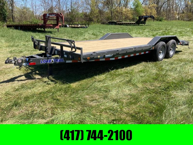 "2021 Load Trail 102""x22' Tandem 14K w/ Slide In Ramps"