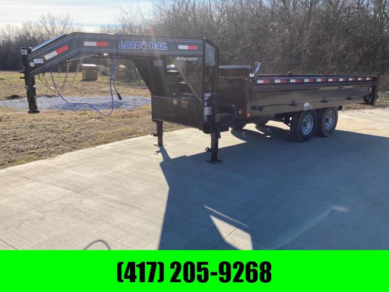 2021 Load Trail 96x16 Tandem GN Deck Over Dump Trailer