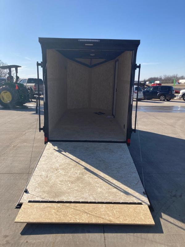 2022 Impact Trailers 6x12 Single Axle Enclosed Cargo Trailer