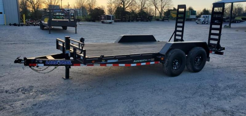 2021 Load Trail 83X16 TANDEM 14K EQUIPMENT HAULER W/STAND UP RAMPS*NEVER USED*