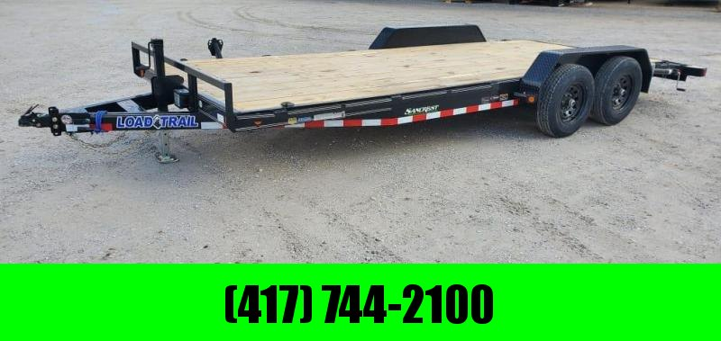 2021 Load Trail 83X20 TANDEM 10K CAR HAULER W/SLIDE OUT RAMPS & STAB JACKS