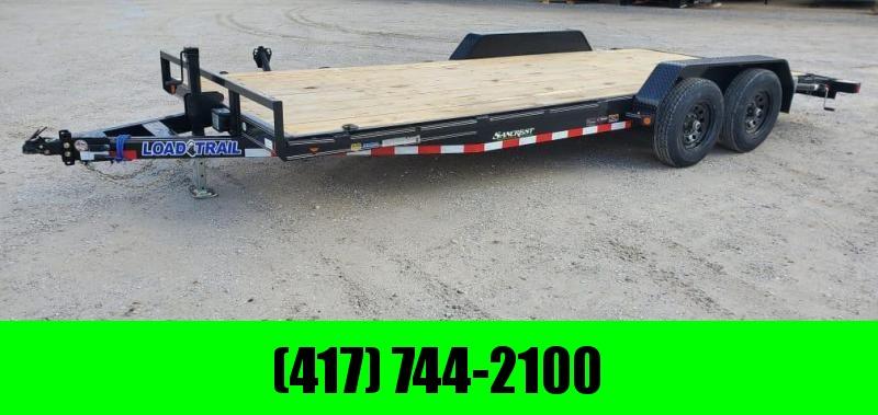 2021 Load Trail 83X20 TANDEM 10K CAR HAULER W/SLIDE OUT RAMPS & STAB JACKS