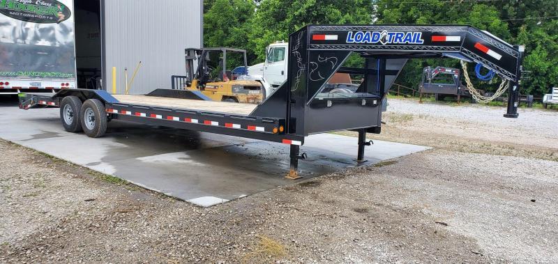 2020 Load Trail 102X28 TANDEM 14K GOOSENECK CAR HAULER W/MAX RAMPS