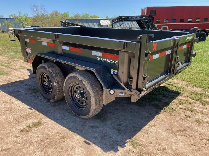 """2021 MAXXD 72X10 TANDEM 10K DUMP WITH 21"""" SIDES & SLIDE IN RAMPS"""