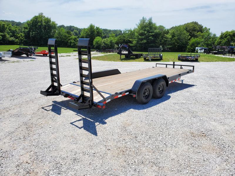 2020 Load Trail 83X20 TANDEM 10K EQUIPMENT HAULER W/STAND UP RAMPS