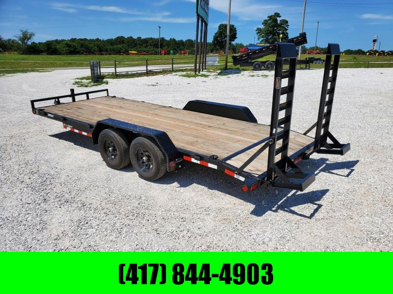 2020 Load Trail 83X20 TANDEM 10K EQUIPMENT HAULER W/STAND UP RAMPS