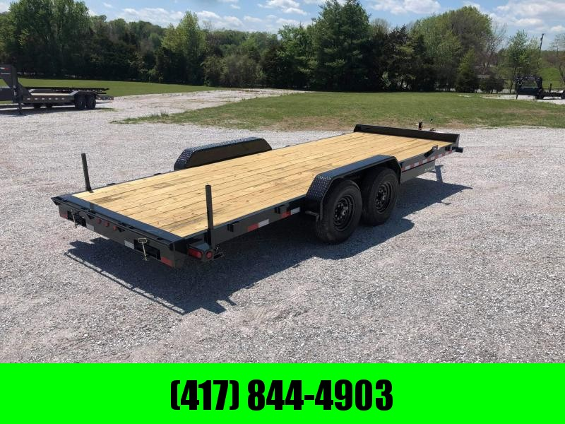 2021 Big Tex Trailers 83 X 20 14EE Tandem Axle Equipment Trailer