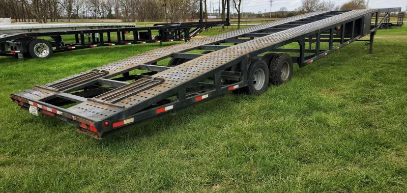 2016 Sun Country 102X53 3 CAR WEDGE W/10K AXLES 14PLY TIRES& SLIDE OUT RAMPS