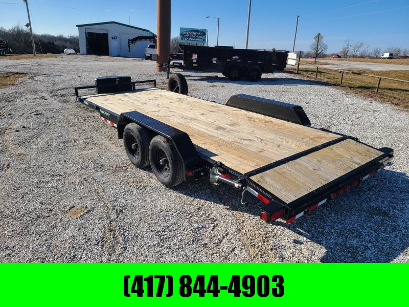 "2019 Load Trail 83"" x 20' Tandem Axle Carhauler W/ 5200LB AXLES"