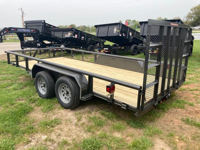 2021 Double A 83x16 Tandem Utility Trailer