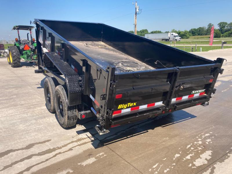 2022 Big Tex 83x14 Tandem GN Dump Trailer