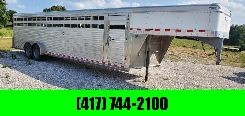 2018 Barrett 30' Aluminum Livestock Trailer