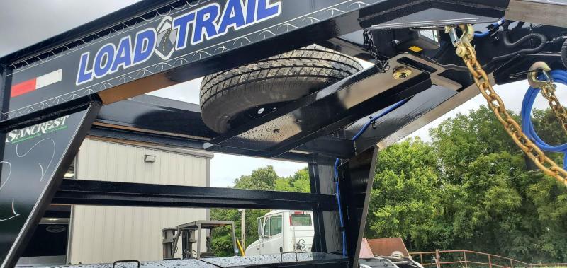 2021 Load Trail 102X28 TANDEM 14K GOOSENECK CAR HAULER W/MAX RAMPS
