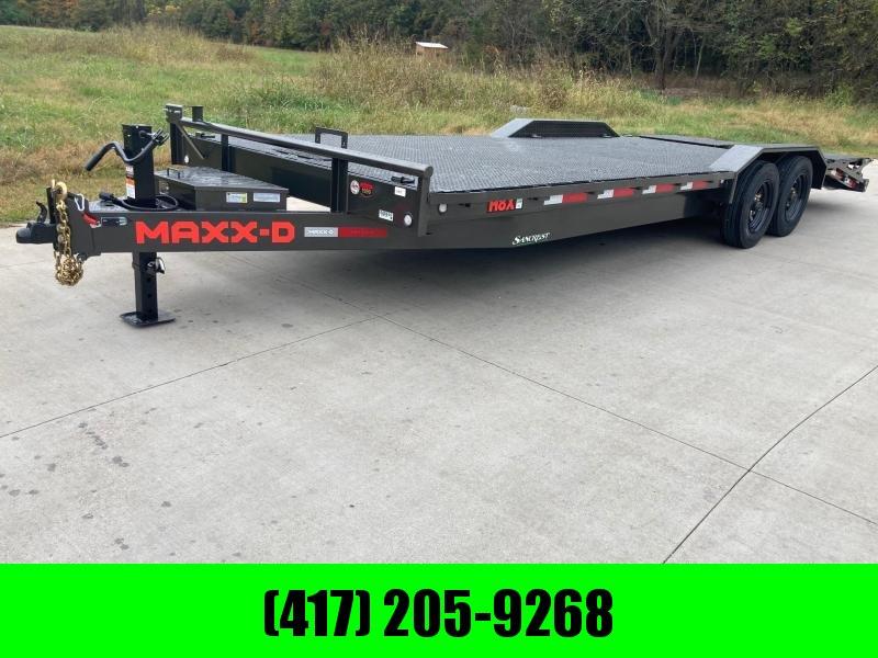2022 MAXXD 102x24 Tandem 16K Steel Floor Equipment Trailer
