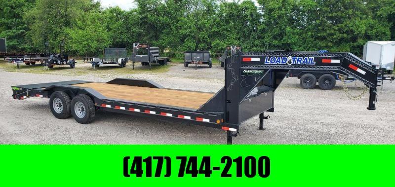 2020 Load Trail 102X24 TANDEM 14K GOOSENECK CAR HAULER W/MAX RAMPS