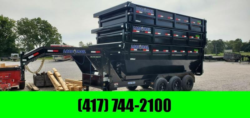 2020 Load Trail 83X16 TRIPLE 21K ROLL OFF GN DUMP W/3 83X16 BINS