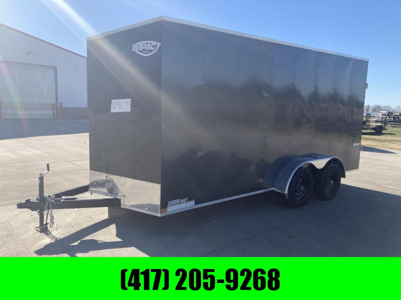 2021 Impact Trailers 7x16 Tandem 7K Enclosed Cargo Trailer