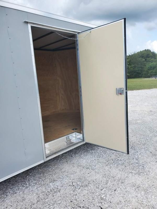 2021 COVERED WAGON 8.5X24 TANDEM 10K CARGO W/7' HEIGHT & RAMP DOOR