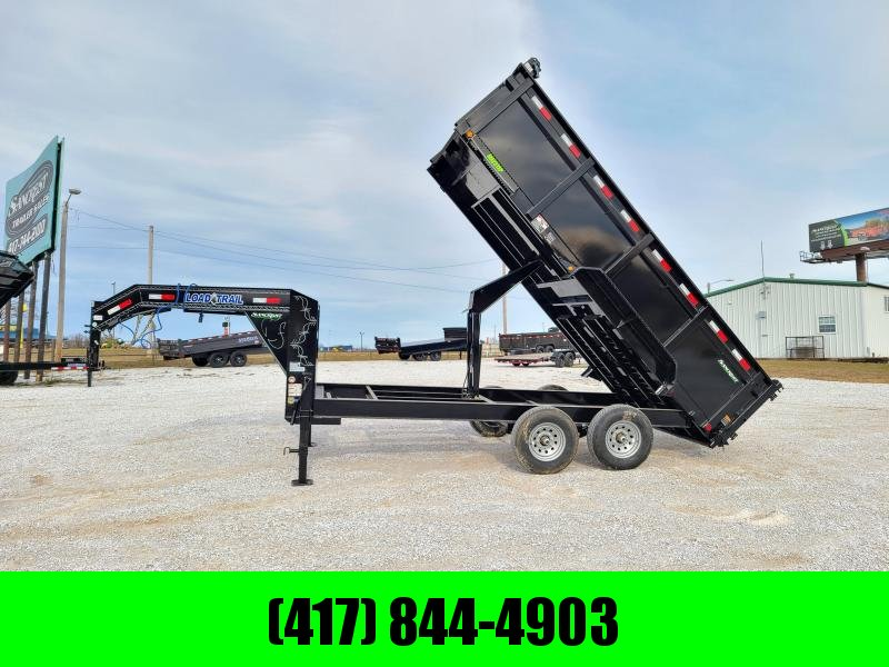 2021 Load Trail 83x16 Tandem GN Dump Trailer