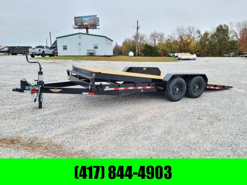 2021 H&H 82X20 TANDEM 14K FULL GRAVITY TILT LOW DECK