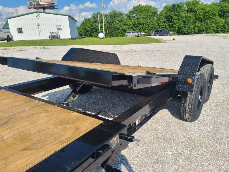 "2021 Load Trail 83"" X 22' Tilt-N-Go Tandem Axle Tilt Deck I-Beam Frame"