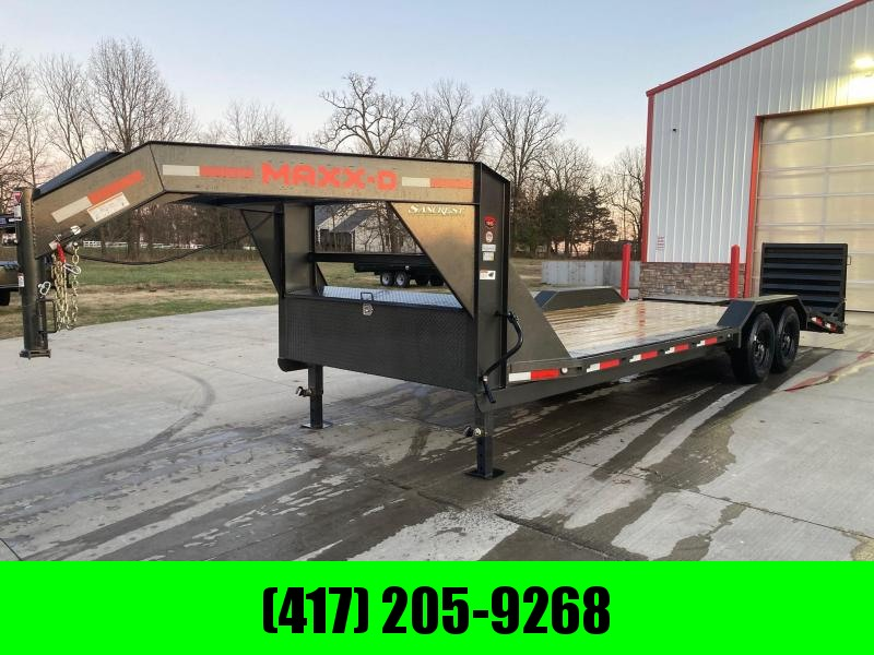 2021 MAXXD 102x24 Tandem 14K GN Buggy Hauler Equipment Trailer