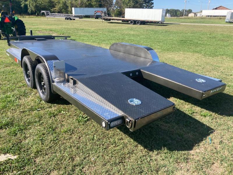 2022 MAXXD 83x20 Tandem Steel Floor Car / Racing Trailer