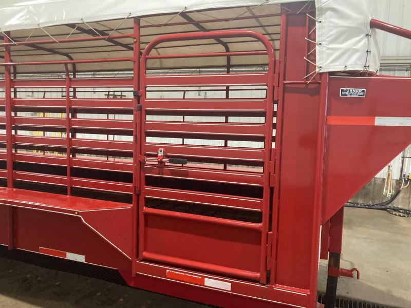 2020 Easy Rider 6'8x32 Triple Axle Livestock Trailer