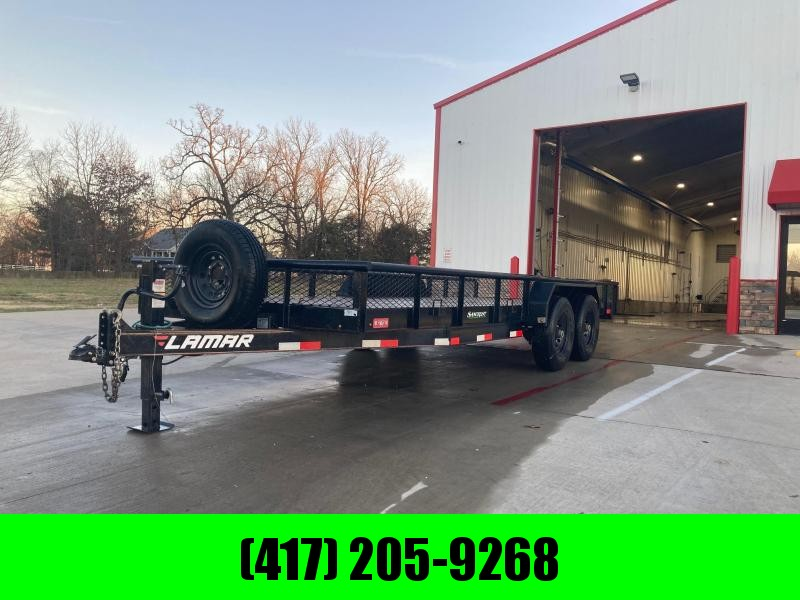 2019 Lamar Trailers Tandem Equipment Trailer