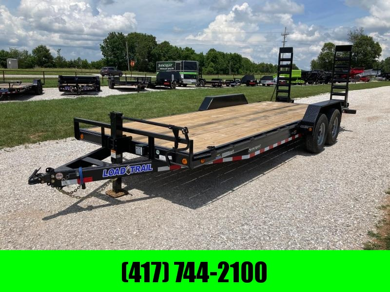 2021 Load Trail 83X22 TANDEM 14K CARHAULER W/ 2' DOVE AND STAND UP RAMPS