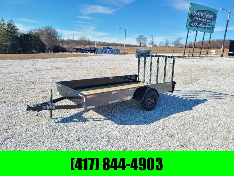 """2021 H&H 76X12 SOLID SIDE SINGLE 3.5K UTILITY W/50"""" SPRING ASSIST GATE"""