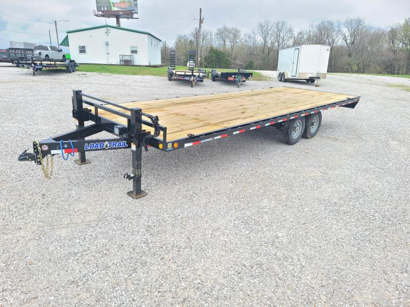 """2022 Load Trail 102"""" x 24' Deck Over Pintle Hook"""