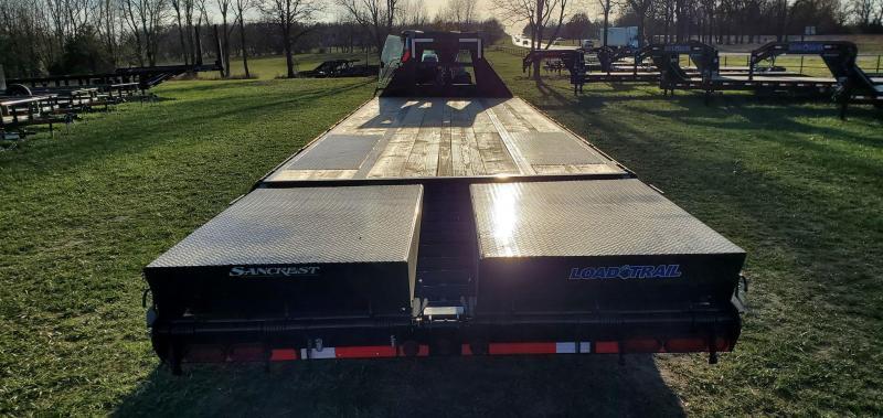2021 Load Trail 102X30 TANDEM LO-PRO GN W/10K AXLES(HDSS) & MAX RAMPS