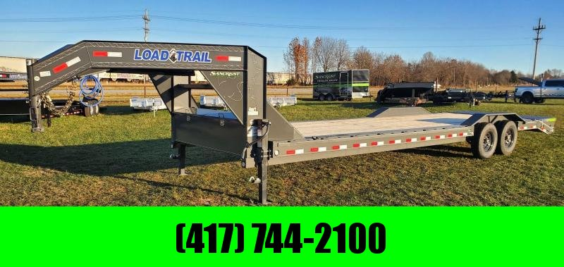 2021 Load Trail 102X30 TANDEM 14K GN CAR HAULER W/MAX RAMPS & CLEAR LEDS